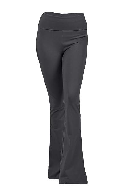 Amazon.com: ClothingAve Pantalones de yoga plegables con ...