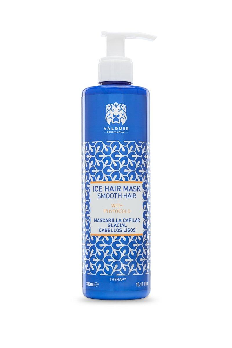 Válquer Profesional Ice Hair Mask. Mascarilla Capilar efecto hielo 0% volumen. Sin sal, sin parabenos y sin sulfatos.Cabellos lisos - 300 ml