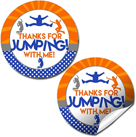 Amazon.com: Trampolín Jump Zone Parque Fiesta de cumpleaños ...