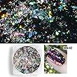 0.2gram/box Galaxy Holo Chameleon Laser Flakes Bling Nail Flecks Powder Galaxy Chrome Flakes Laser Flakes (BS-02)
