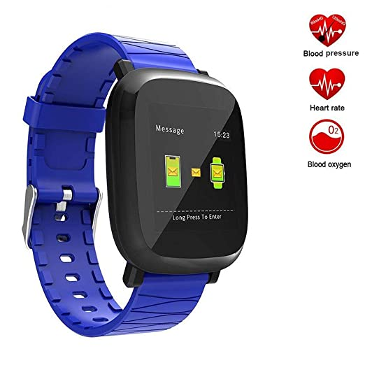 TEN-G Fitness Tracker Color Screen Smart Watch with Heart ...