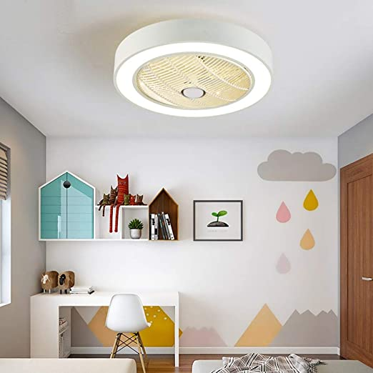 MMD Ventilador de Techo Araña Salón Dormitorio Iluminación ...
