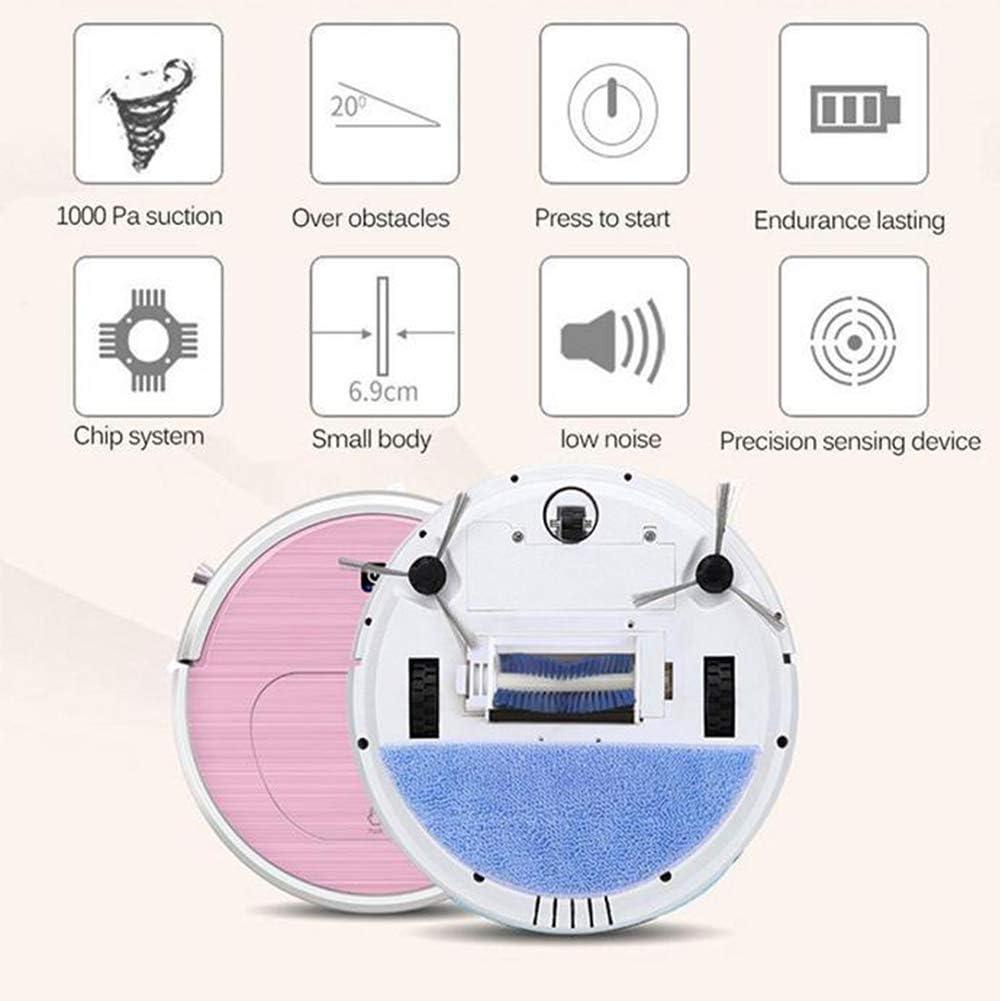 AWJ Casa Aspirador Robot 3000PA potente aspirador robot aspirador ...