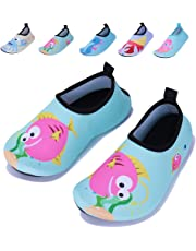 Vivay Kids Water Shoes Girls Boys Toddler Quick Dry Anti Slip Aqua Socks for Beach Outdoor Sports