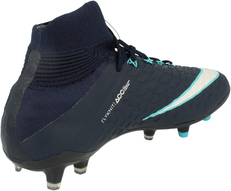 5.5Y Obsidian Nike Youth Hypervenom Phantom III DF FG Cleats