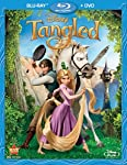 Cover Image for 'Tangled (Two-Disc Blu-ray/DVD Combo)'