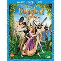 Tangled 2 DiscsBlu-ray + DVD Combo