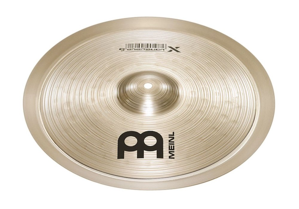 Meinl Cymbals GX-12/14XTS Generation X Serie Becken Set X-Treme Stack 30, 5 cm (12 Zoll) - 35, 6 cm (14 Zoll)