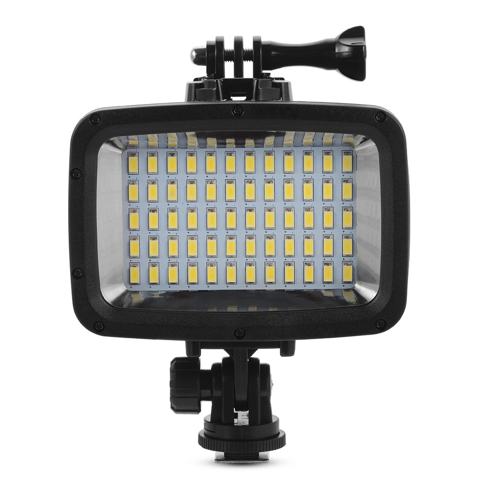 XCSOURCE Underwater 40M Waterproof LED Diving Video Light 60 LEDs 1800LM for GoPro Hero 3/4 Sports Cameras DSLR LD846