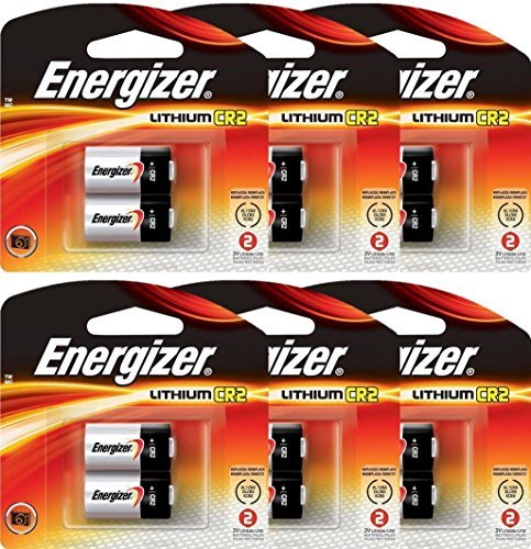 12 Energizer CR2 3-Volt 3V Lithium Photo Batteries (6x2) (2 Batteries Lithium Photo)