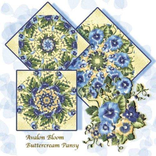 UPC 609722005173, Faye Burgos' Buttercream Pansy Kaleidoscope Quilt Block Kit