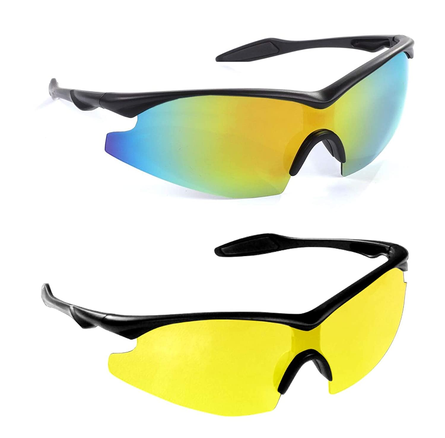 3f22f52d7d Amazon.com  Bell + Howell Tac Glasses + Nightvision Sun Glasses Polarized