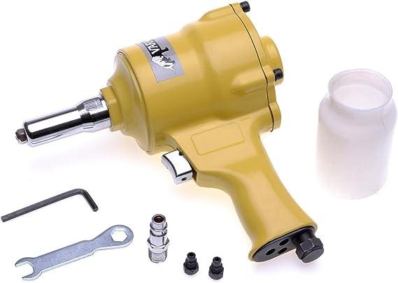 Varan Motors Spt 19002b Druckluft Nietmaschine Für Nietendurchmesser 2 4 3 2 4 0 4 8mm Luftzufuhr Baumarkt
