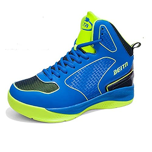 QZbeita Man's High Top Sneakers Breathable Sport Shoes Basketball Shoe Soft  Sneakers Shoes (5 UK