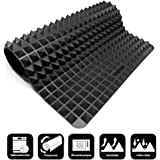 Collory Silicone Oven Mat with 500 Pyramid Studded Surface | Silicone Underlay| The Alternative to Baking paper | Reusable for Baking Sheet | Non sticks | Heat Resistant up to 240 °C | 39 x 27.5 x 1.2 cm | Food grade safe material (BPA Free) (Black)