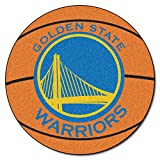 FANMATS NBA Golden State Warriors Nylon Face Basketball Rug