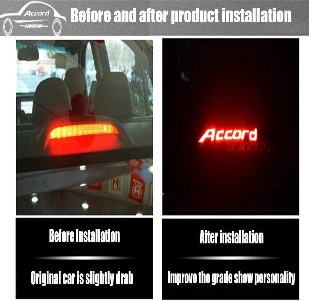 TUPARTS 3rd Brake Light High Mount Brake Light CJ5Z13A613B//923-292//CJ5Z13A613D LED Rear Light Black+Smoke Lens Fit for 13-18 Ford Escape