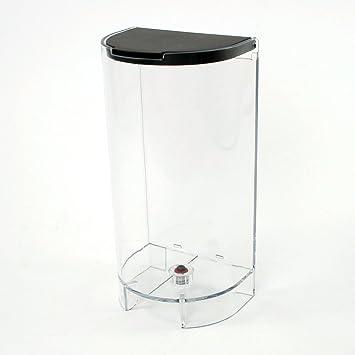 DeLonghi - Recipiente/Depósito de agua + tapa para máquina de café Nespresso Inissia EN80: Amazon.es: Hogar