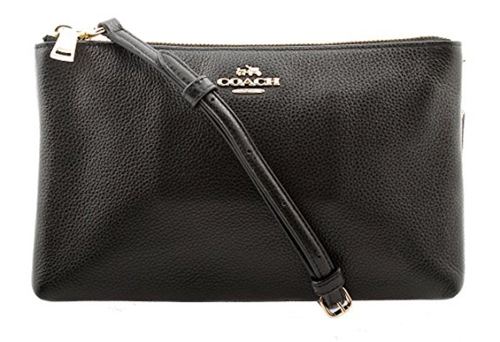 Coach Lyla Crossbody in Pebble Leather, F38273 (Black)