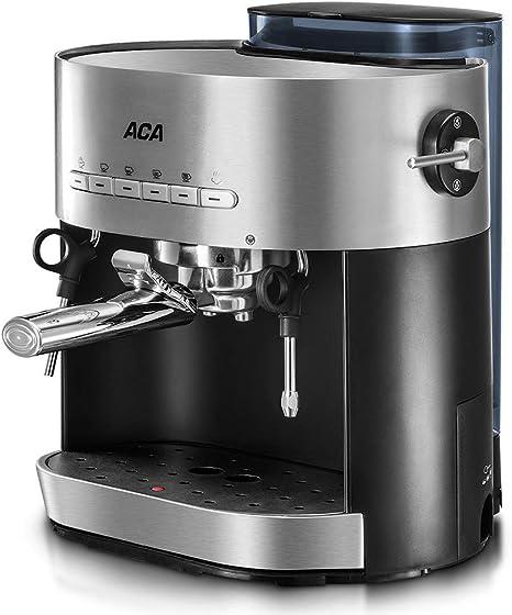 RUIXFCA Cafetera Espress para Espresso y Cappuccino, Depósito 1,5 ...
