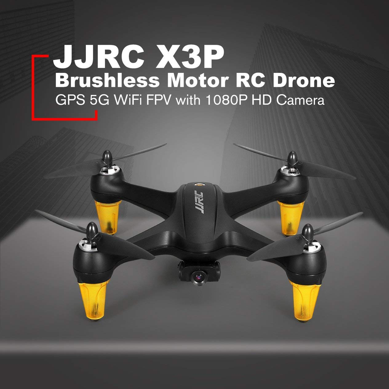 EdBerk74 JJRC X3P GPS 5G WiFi con cámara 1080P HD Modo de ...