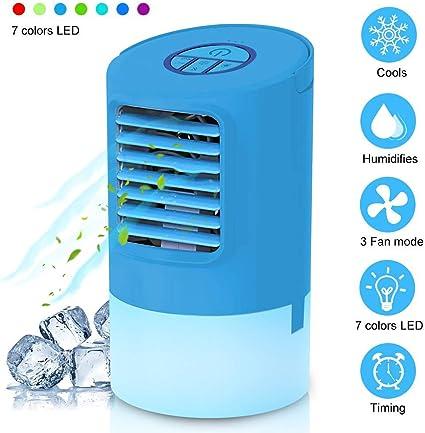 Wasserkühlung Tischventilator Air Cooler Luftbefeuchter Mini Klimaanlage