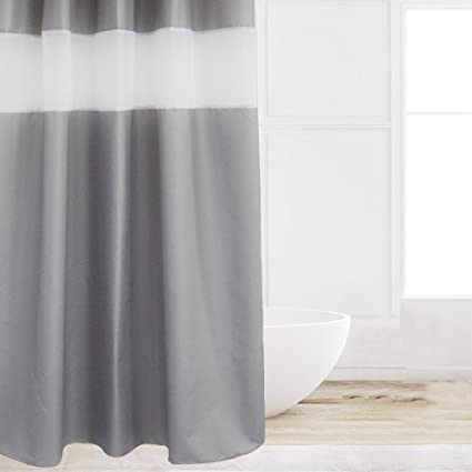 Eforcurtain Small Width Size Waterproof Fabric Shower Curtains Mildew Resistant 36 By 72 Inch Cute