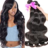 BODHI TREE 10A Brazilian Hair Body Wave 3 Bundles 100% Unprocessed Brazilian Human Hair Weave Weft (14 16 18)Natural Color Brazilian Remy Human Hair Extenion Review