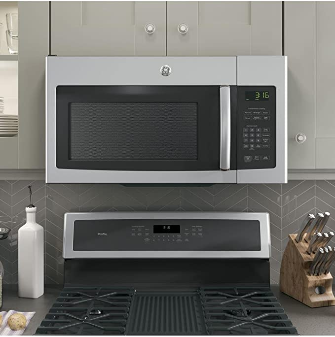 GE JNM3163RJSS 30 Over-the-Range Microwave