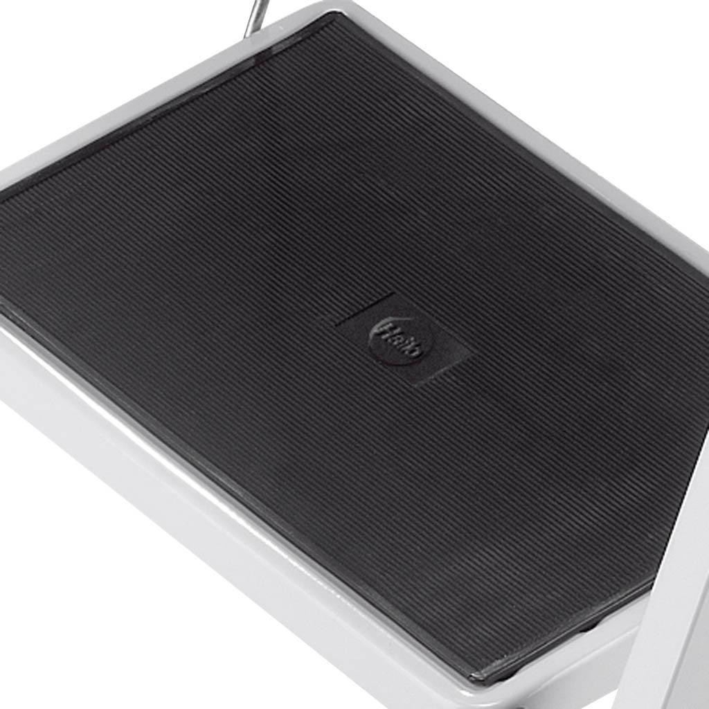 hailo 4396 901 stahl klapptritt k20 weiss 2 stufen mit anti rutschmatten k che. Black Bedroom Furniture Sets. Home Design Ideas
