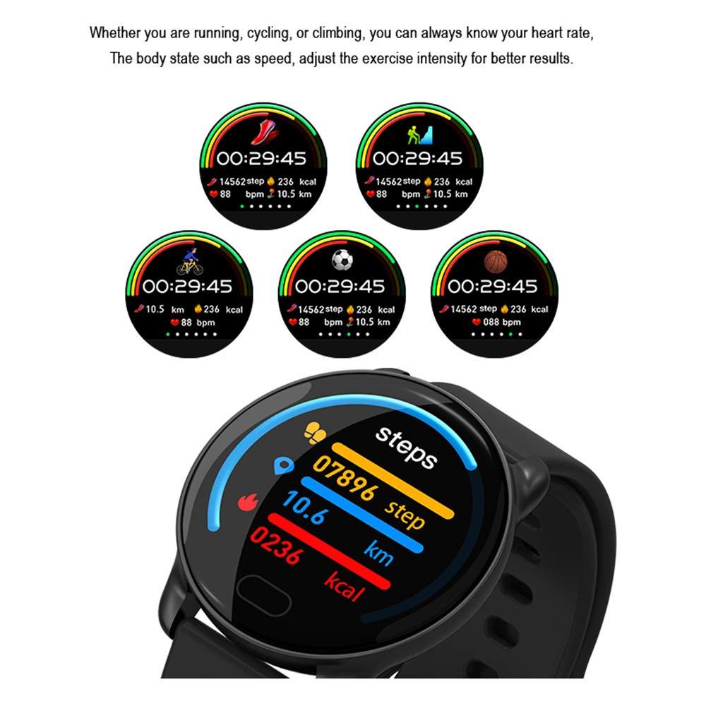 Relojes Inteligente K9,Bluetooth Smartwatch con 1.22 Pulgadas de ...