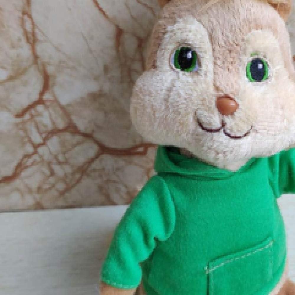 wwwl Peluche Morbidi 15 CM Film Ripieno Animale Bambola Bambini Giocattolo Regalo di Vacanza Peluche Giocattolo Alvin