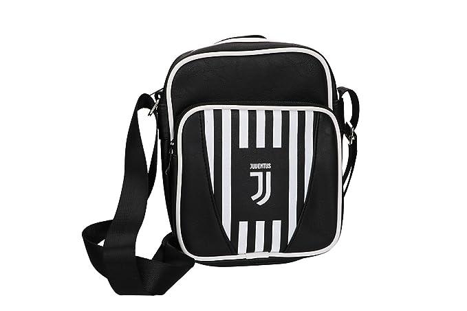 JUVENTUS - ENZO CASTELLANO Tracolla uomo PRODOTTO UFFICIALE borsello nero  VF465  Amazon.it  Abbigliamento ae3d359f369