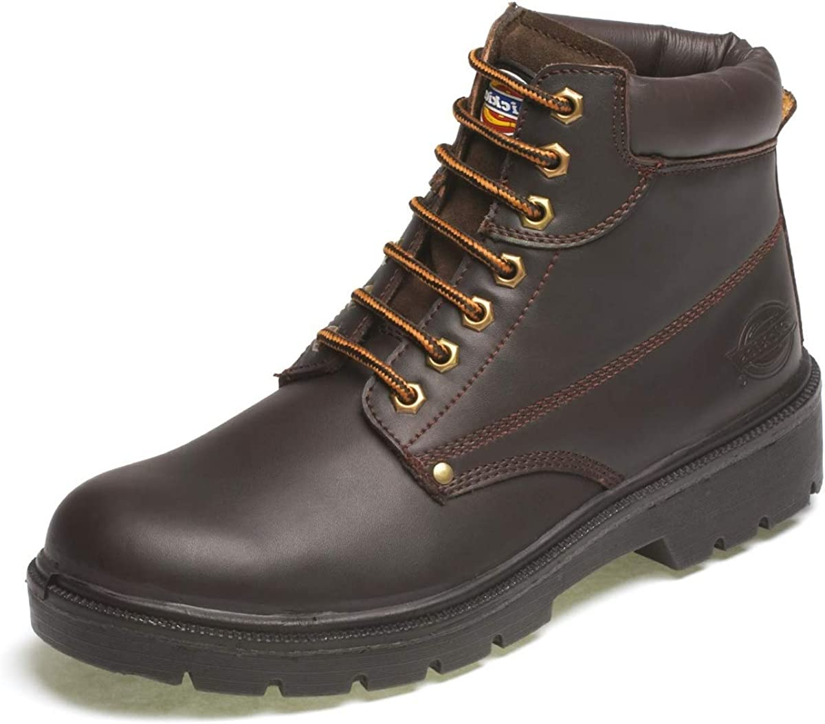 Brown 10 Dickies Workwear Water Resistant ANTRIM Safety Boots
