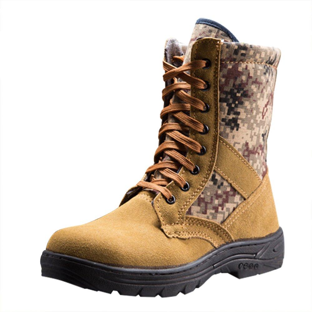 Optimal Product メンズ B077YTMGN6 US Men Size 6.5|Camo Brown Camo Brown US Men Size 6.5