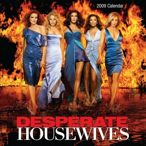Desperate Housewives Official 2009 Calendar -Square Wall by Andrews McMeel Publishing UK Ltd (2008-10-30)