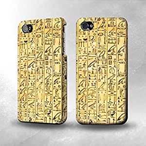 Apple iPhone 4 / 4S Case - The Best 3D Full Wrap iPhone Case - Egyptian Coffin Texts