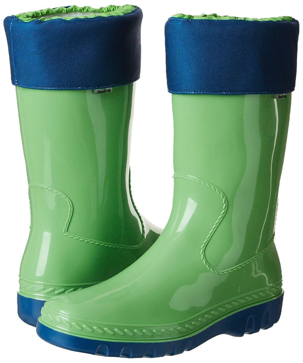 Romika Eisbär Unisex-Erwachsene Eisbär Romika Gummistiefel Grün (Lime-blau 646) 40991a
