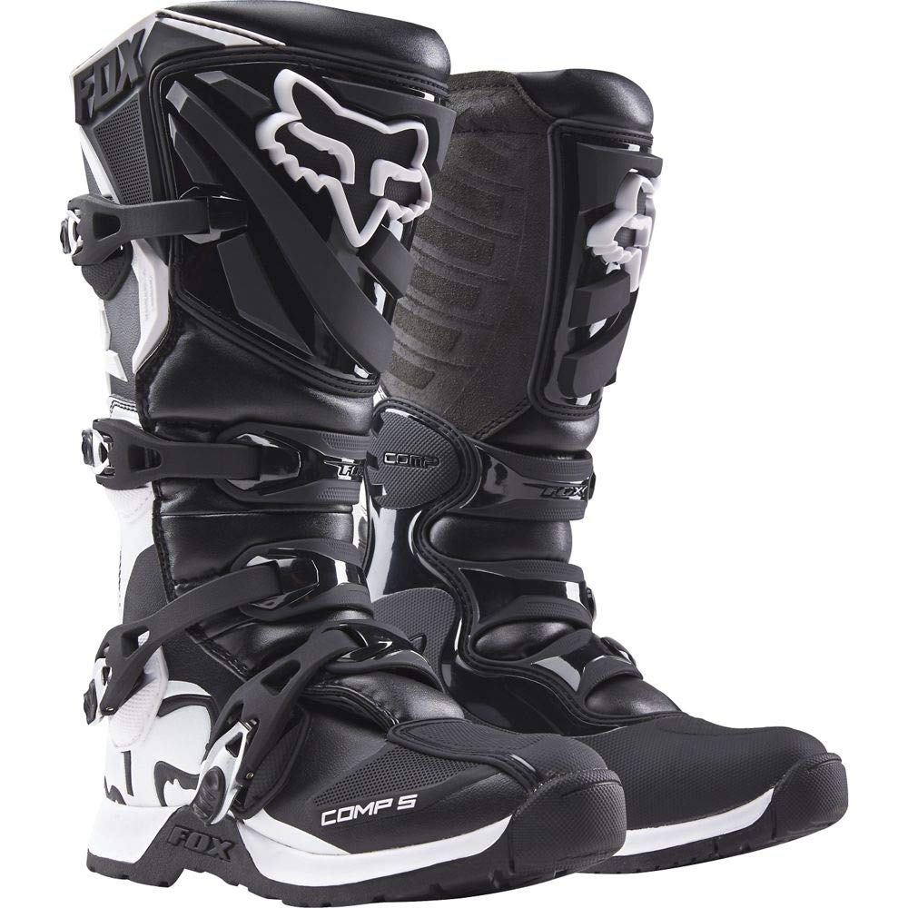 2018 Fox Racing Womens Comp 5 Boots-Black//Pink-10 16450-285-10