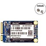Zheino Q3 内蔵型 mSATA SSD 240GB (30 * 50mm) 3年保証 mSATAIII 6Gb/s mSATA ミニ ハードディスク