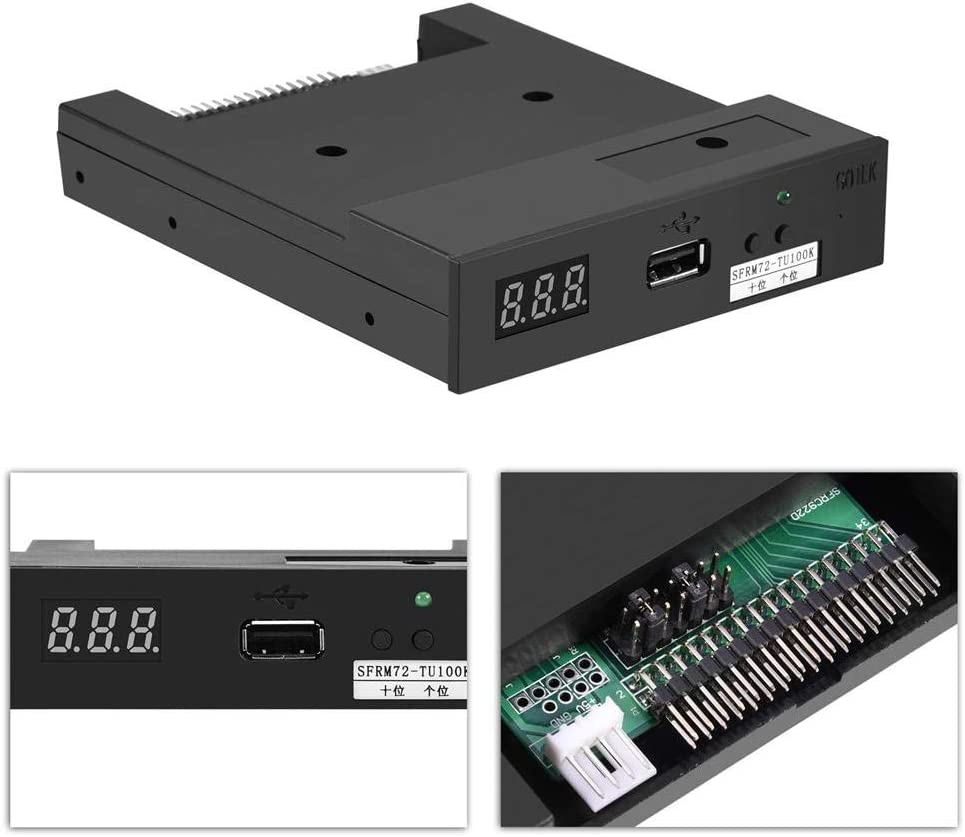 SFRM72-TU100K 3.5 USB Floppy Drive Emulator High Security Data Protection for Industrial Control Equipment with 720KB Floppy Drive Redxiao USB Emulator