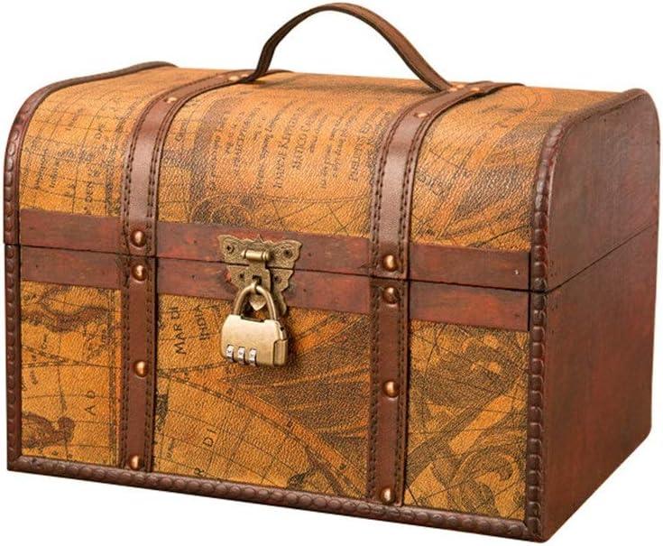 Coffre de rangement d/écoratif Trousse de luxe en bois dans notre gamme Harper