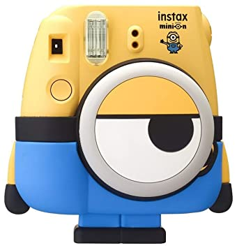 Fujifilm Instax Cute and Compact Minion Body Design Mini 8 Film Camera (Yellow) Instant Cameras at amazon