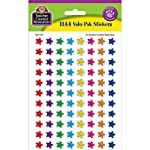 Teacher Created Resources.... Mini Stickers Valu Pack, Smiley Stars (5141)