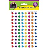 Teacher Created Resources 5141 Smiley Stars Mini Stickers Valu Pack