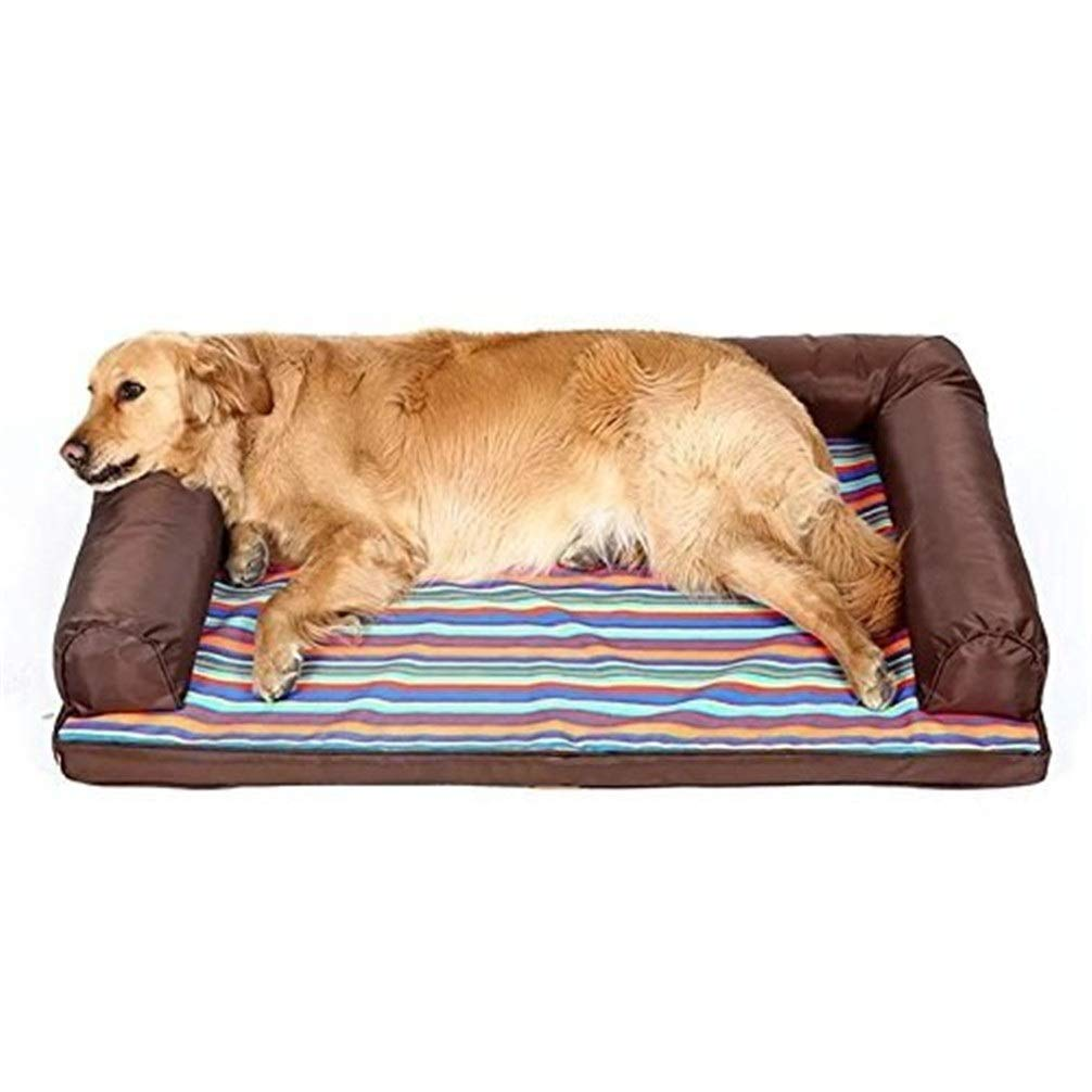 Chunchun Trading Innovation Dog Bed Pet Supplies Removable and Washable Kennel Dog Mat Small Medium-Sized Large Dog (Size : M) by Chunchun