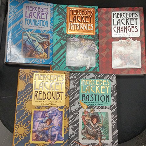 Valdemar Set - Complete set of Valdemar: Collegium Chronicles. 5 volumes