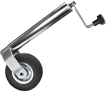 Anhängerstützrad Stabile Ausführung Bugrad Stützrad Ø 60 Mm Stützlast 300 Kg Baumarkt