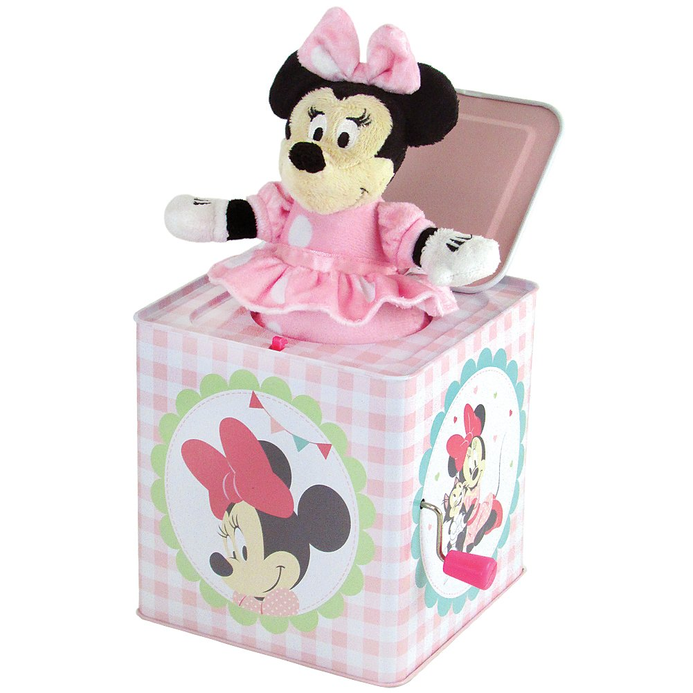 Kids Preferred Disney Minnie Mouse Jack In The Box Classic Toy Plays You Are My Sunshine