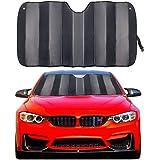 MCBUTY Car Windshield Sunshade Thicken 5-Layer UV Reflector Auto Front Window Sun Shade Visor Shield Cover,Keep Vehicle…